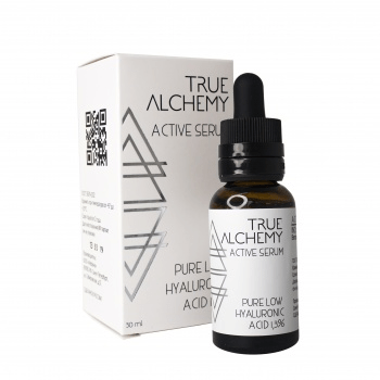 Сыворотка для лица «Pure Low Hyaluronic Acid 1,3%» True Alchemy, 30 мл. — Eco-List.ru