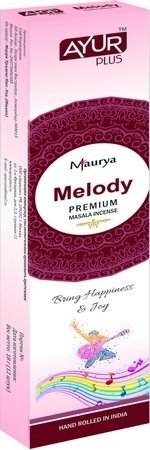 Благовония натуральные Melody, premium masala incense (Ayur Plus, Aюр Плюс), 18 г — Eco-List.ru