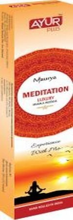 Благовония натуральные Meditation, luxury masala incense (Ayur Plus, Aюр Плюс), 20 г. — Eco-List.ru