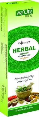 Благовония натуральные Herbal, luxury masala incense (Ayur Plus, Aюр Плюс), 20 г. — Eco-List.ru