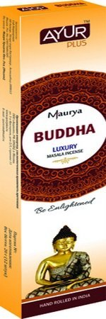 Благовония натуральные Buddha, luxury masala incense (Ayur Plus, Aюр Плюс), 20 г. — Eco-List.ru