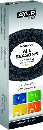 Благовония натуральные All seasons, premium masala incense (Ayur Plus, Aюр Плюс), 18 г. — Eco-List.ru