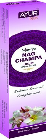 Благовония натуральные Nag champa, luxury masala incense (Ayur Plus, Aюр Плюс), 20 г. — Eco-List.ru