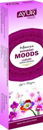 Благовония натуральные Moods, luxury masala incense (Ayur Plus, Aюр Плюс), 25 г. — Eco-List.ru